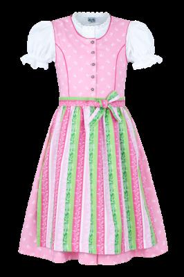 Kinderdirndl in rosa von Isar-Trachten, Gr. 86