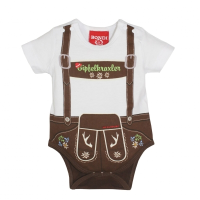 Babybody im Lederhosenlook, BONDI