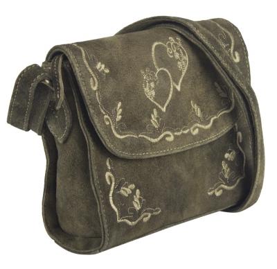 1 Trachtentasche im Antiklook von DOMELO in braun
