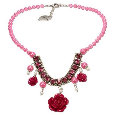1 Blüten-Perlenkette